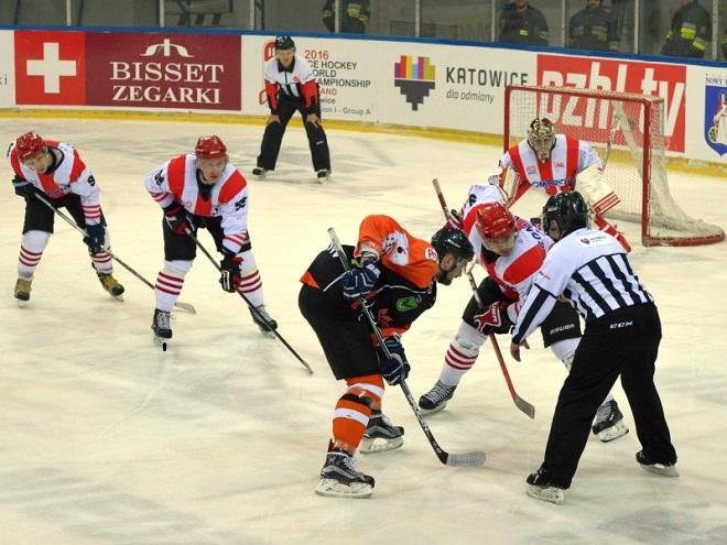 JKH GKS Jastrzębie uległ na Jastorze liderowi Polskiej Hokej Ligi, Comarch Cracovii, 3:4