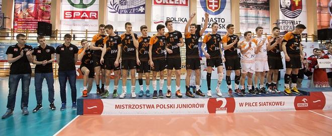Akademia Talentów Jastrzębskiego Węgla wywalczyła wicemistrzostwo Polski ulegając jedynie juniorom z Rzeszowa