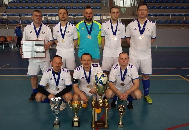 Jastrzębski Zakład Wodociągów i Kanalizacji wywalczył wicemistrzostwo Międzybranżowego Pucharu Polski w Halowej Piłce Nożnej