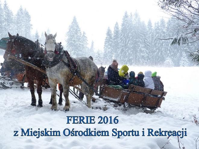 Weź udział w atrakcyjnych wydarzeniach zorganizowanych w ramach zimowych ferii przez MOSiR Jastrzębie-Zdrój
