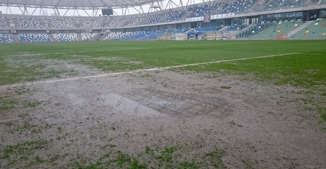 Mecz z BKS-em Bielsko, który miał odbyć się 12 marca, został odwołany przez zły stan murawy. Nowy termin nie jest jeszcze znany