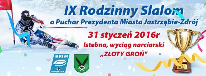 31 stycznia w Istebnej odbędzie się IX Rodzinny Slalom o Puchar Prezydenta Miasta Jastrzębie-Zdrój